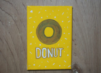 ドーナツのイラストレーション