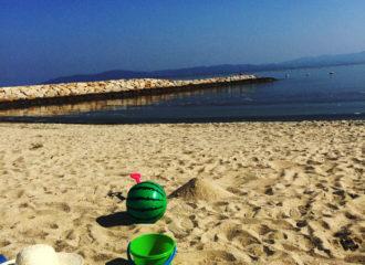 砂浜の写真