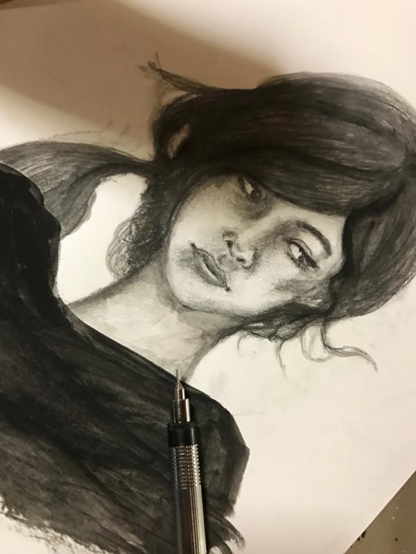 woman イラストレーション