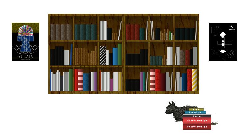 本棚のイラストレーション