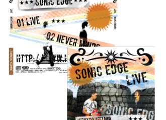 sonic edge CDジャケット