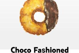 「チョコファッション」水彩イラスト