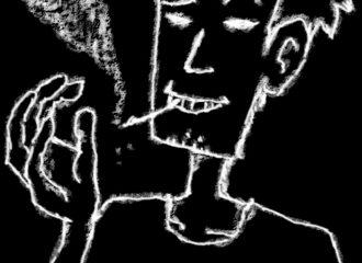 「見えてくるもの」イラストレーション