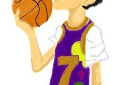 バスケットボーイ イラストレーション