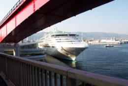 神戸大橋からの景色