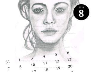 8月のイラスト