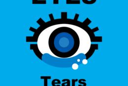 「涙は枯れていなかった」イラストレーション。