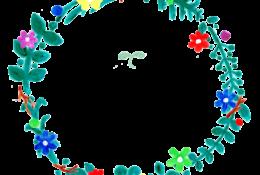 花冠のイラストレーション