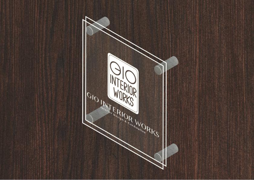 gio interior works サインデザイン