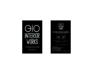 gio interior works 名刺