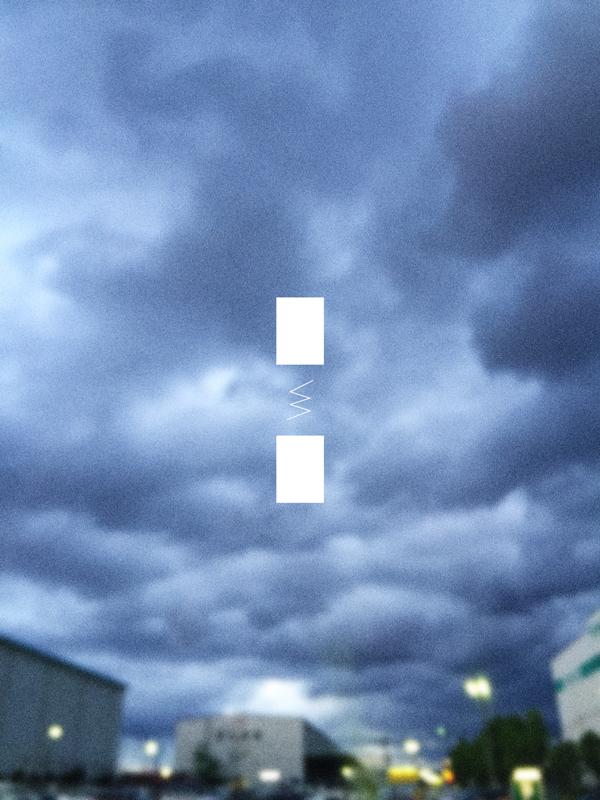 天気悪い空の写真