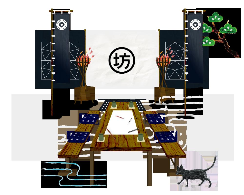 陣地 イラストレーション