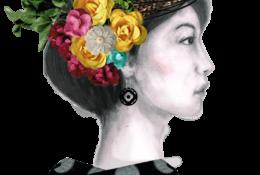 Flower Woman 05 グラフィック