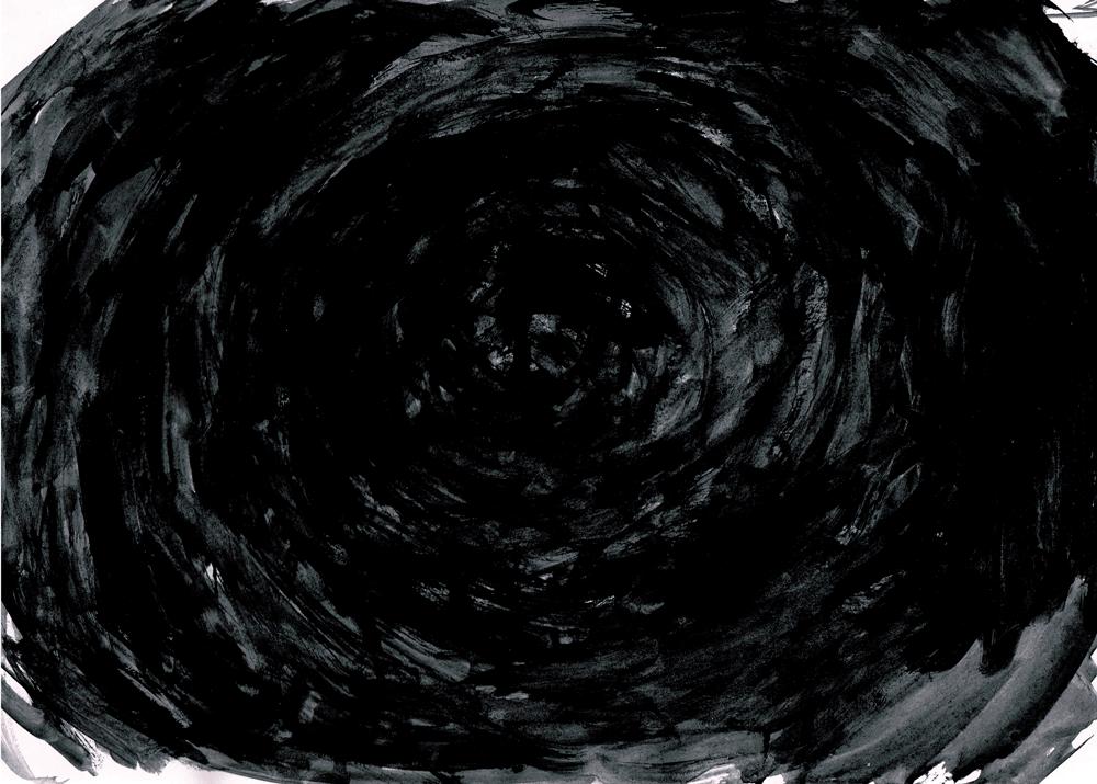 黒のイラストレーション