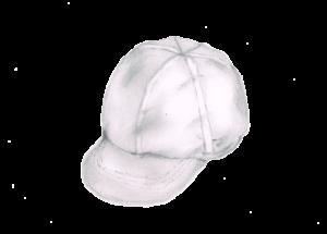 赤白帽 イラストレーション
