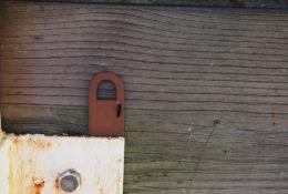 ミニチュアのドアの写真