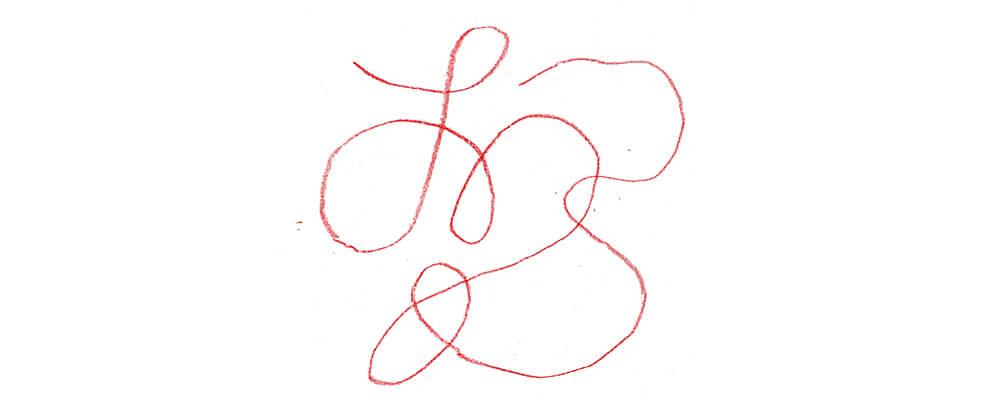 赤い糸 イラストレーション