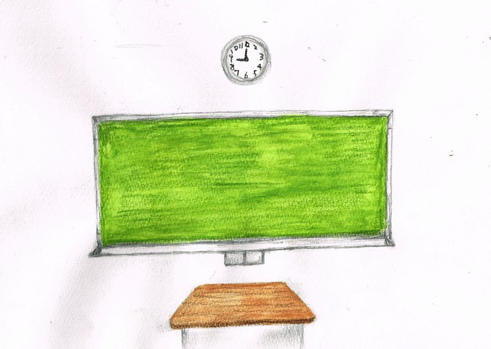 黒板 イラストレーション