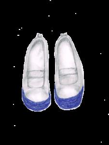 上靴 男の子用 イラストレーション