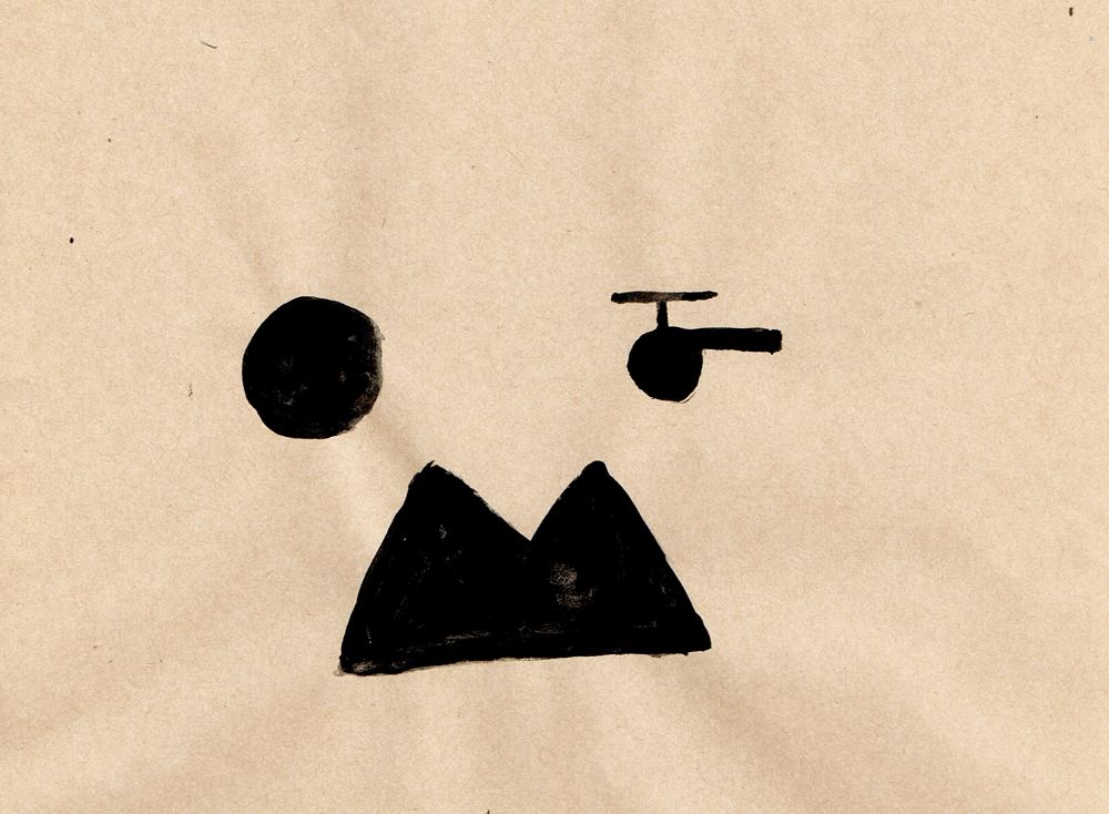 bow 景色 イラストレーション
