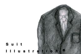 スーツのイラストレーション