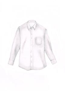 ワイシャツのイラストレーション