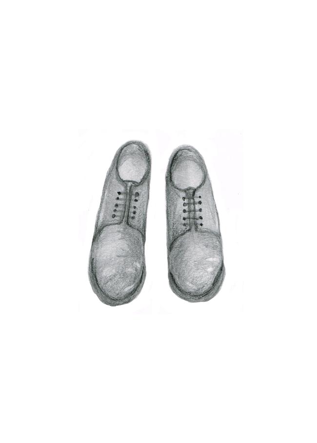 革靴のイラストレーション