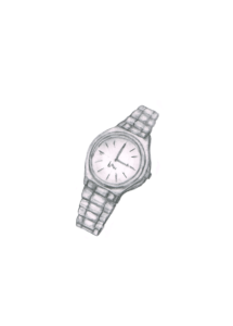 腕時計のイラストレーション