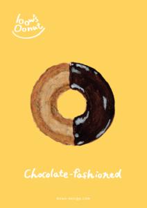 チョコファッション イラストレーション