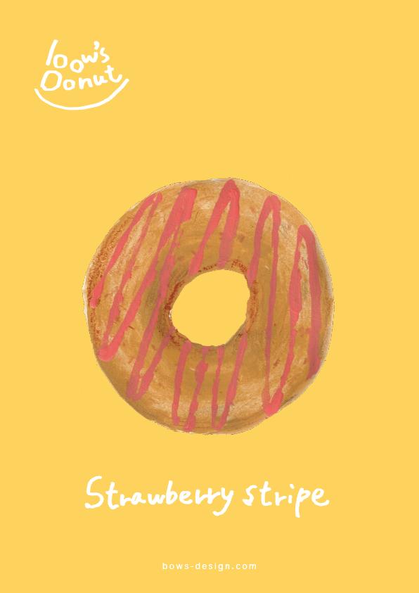 ストロベリーストライプ イラストレーション