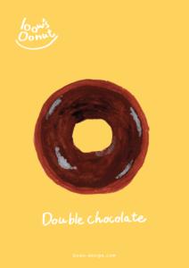 ダブルチョコレート イラストレーション