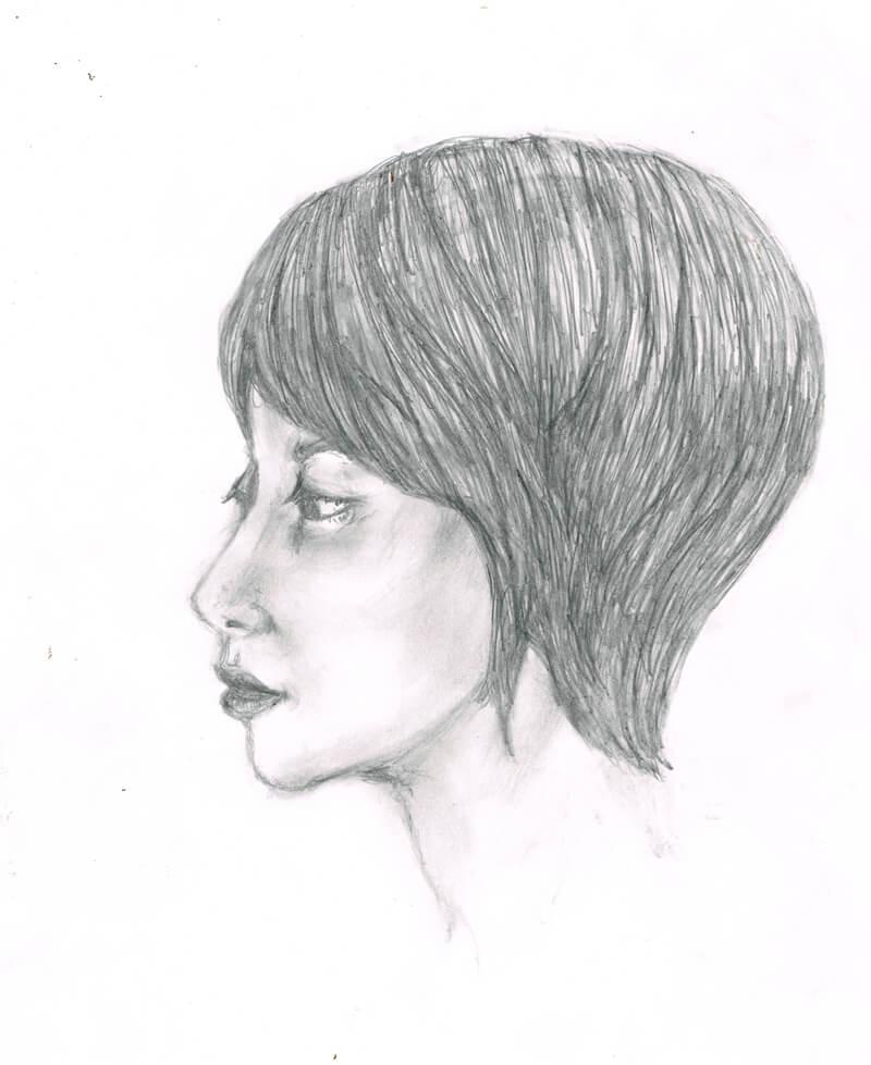 女性のイラストレーション
