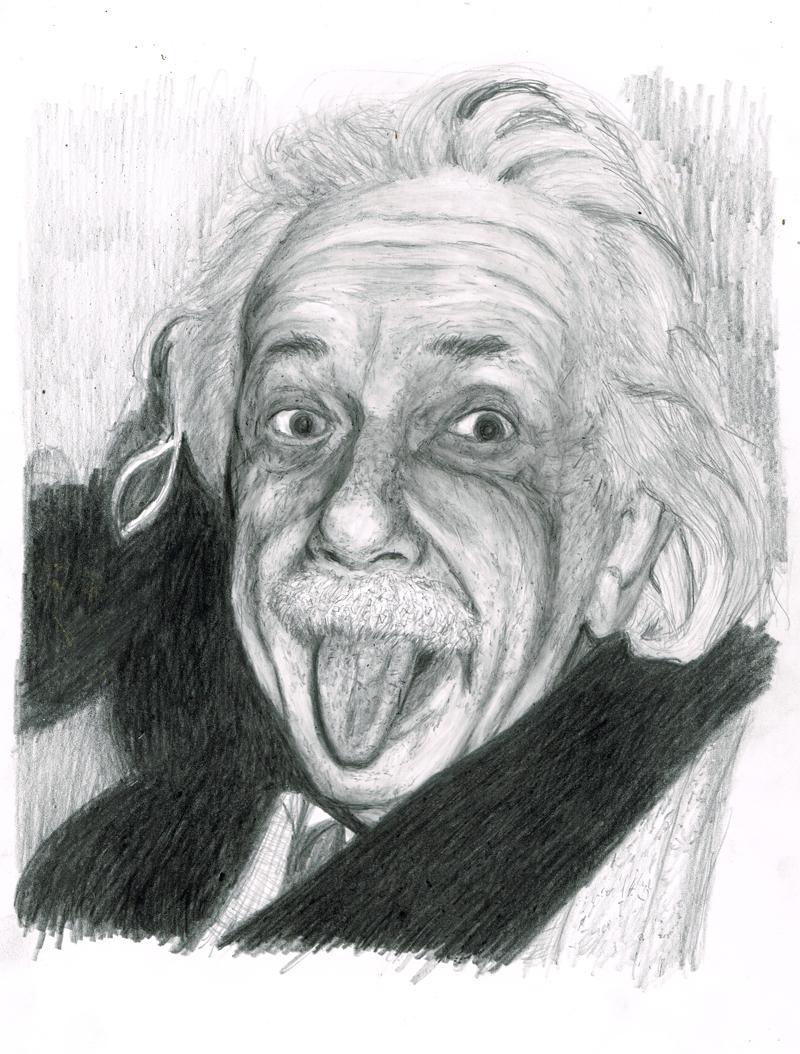 アインシュタイン イラストレーション