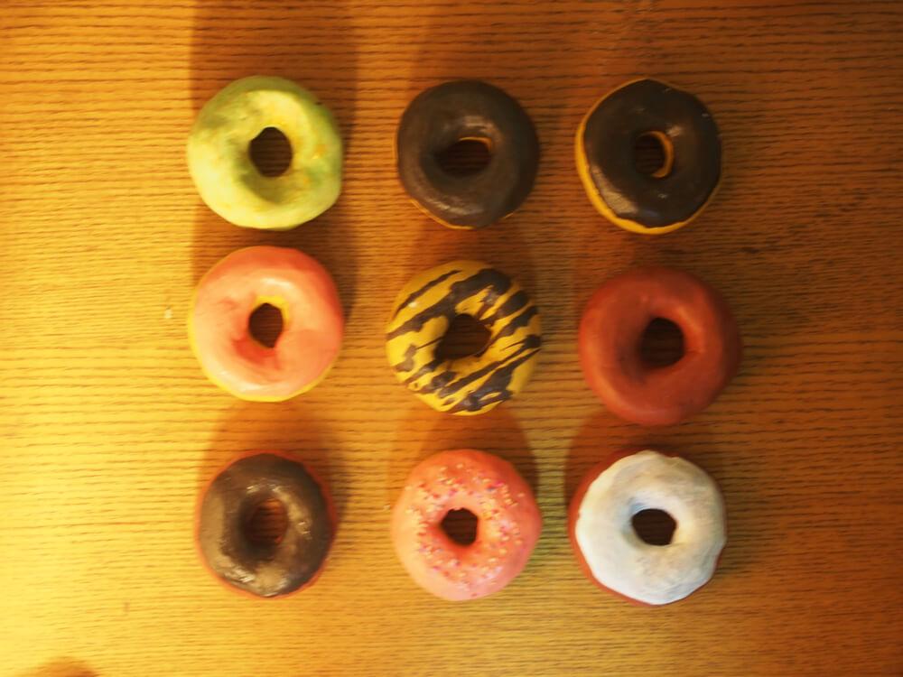 ドーナツの写真