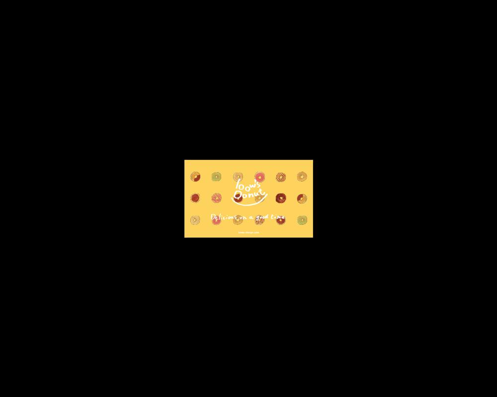 bow's Donut ショップカード