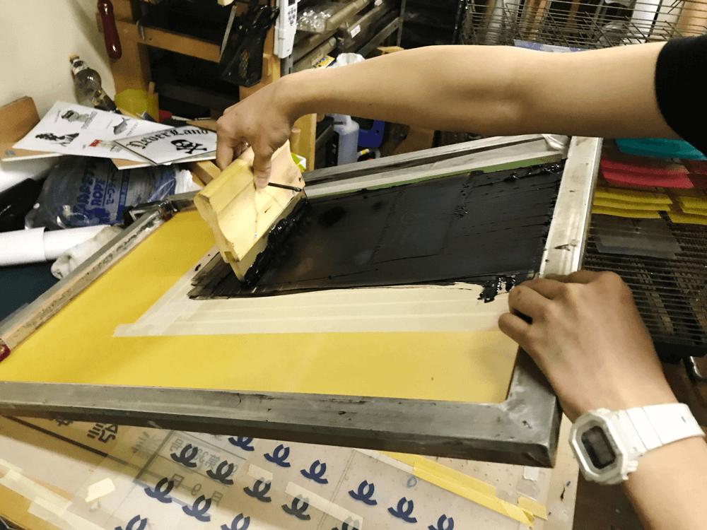 天城そろばん教室 クリアファイル シルクスクリーン印刷