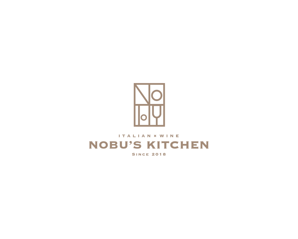 NOBU'S KITCHEN ロゴ