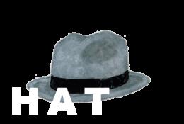 ハットのイラストレーション