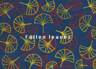 落ち葉のイラストレーション