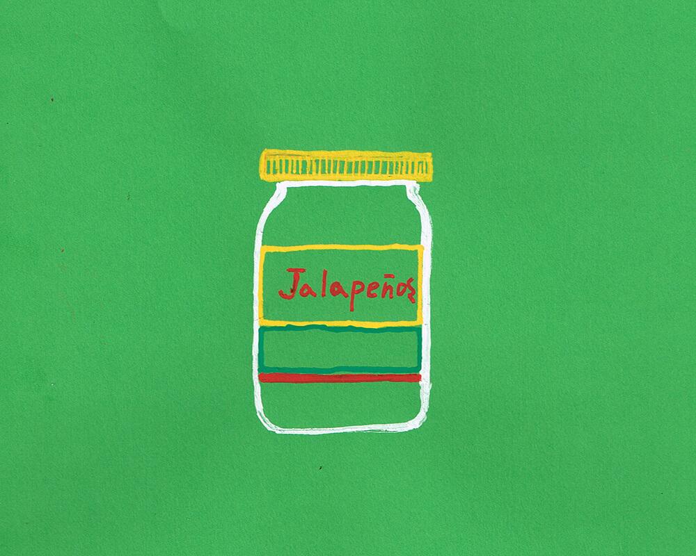 ハラペーニョのイラスト