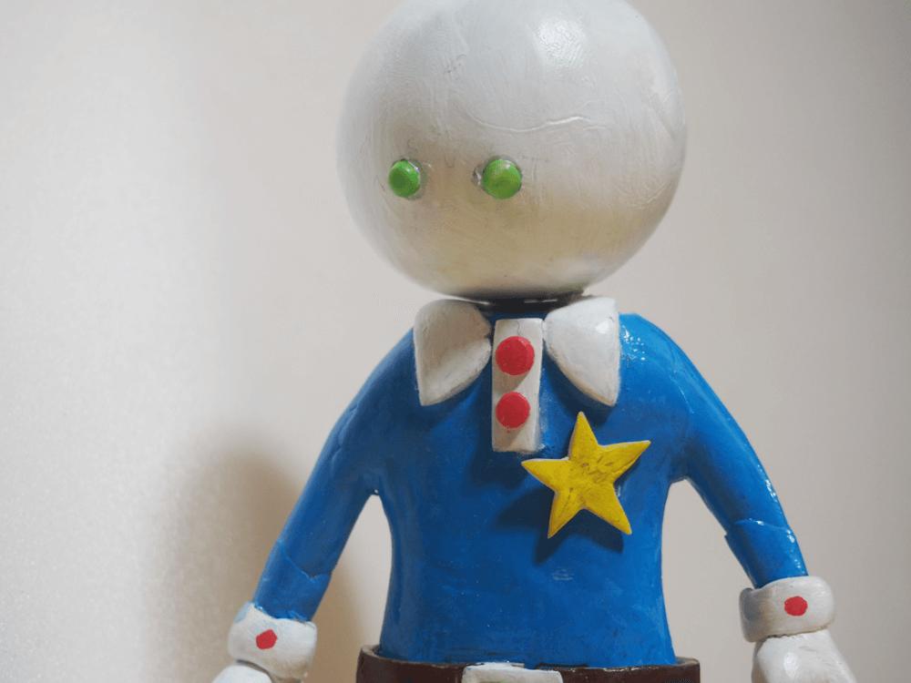 樹脂粘土 フィギュア オリジナルキャラクター G-0