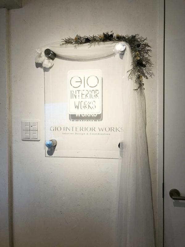 gio interior works ウェディング仕様