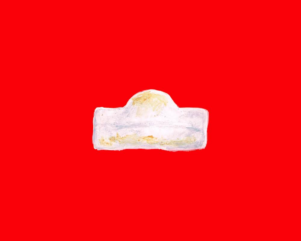 お餅 イラストレーション
