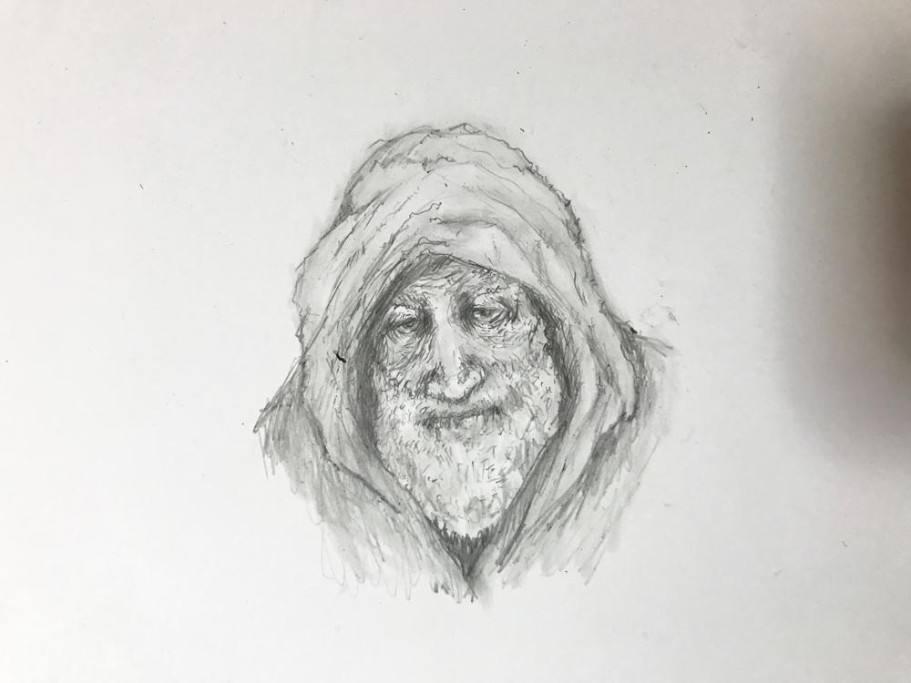 おじいさんのイラスト