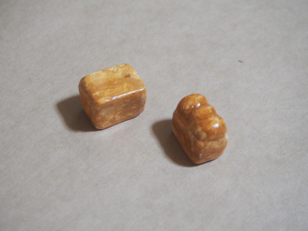 粘土細工 パン ミニチュア