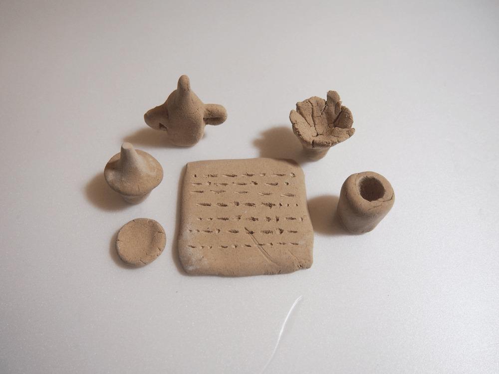 粘土細工 埴輪