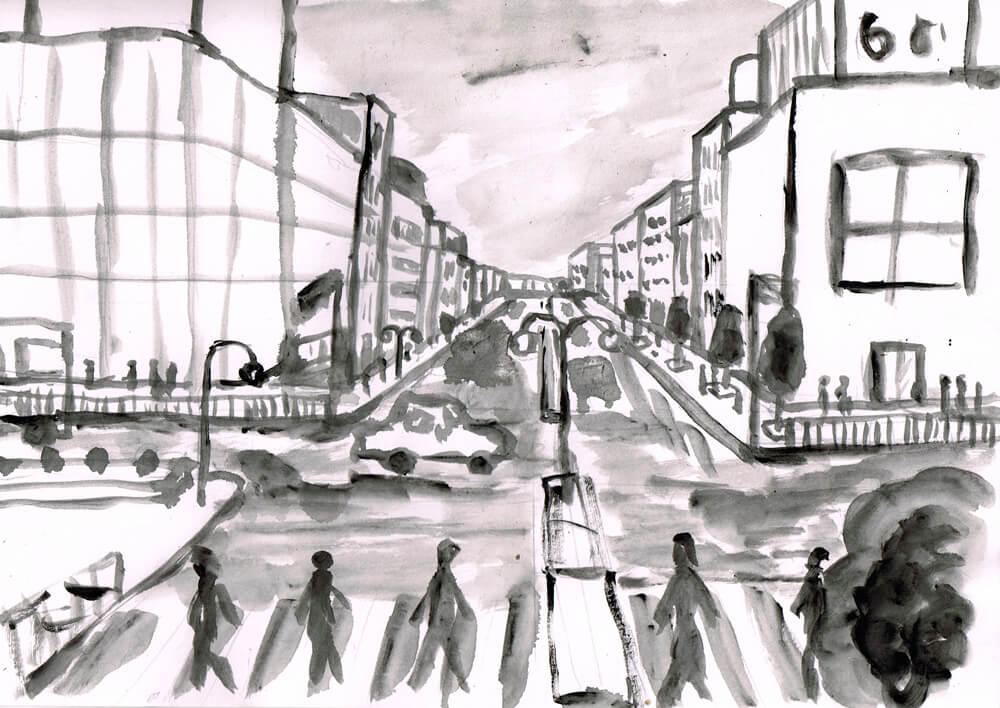 街並み イラスト