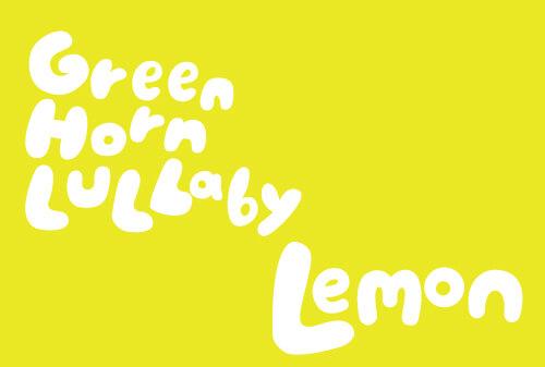 green horn lullbye ロゴ