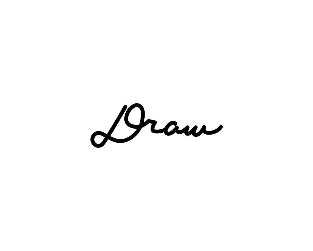DRAW タイプ文字