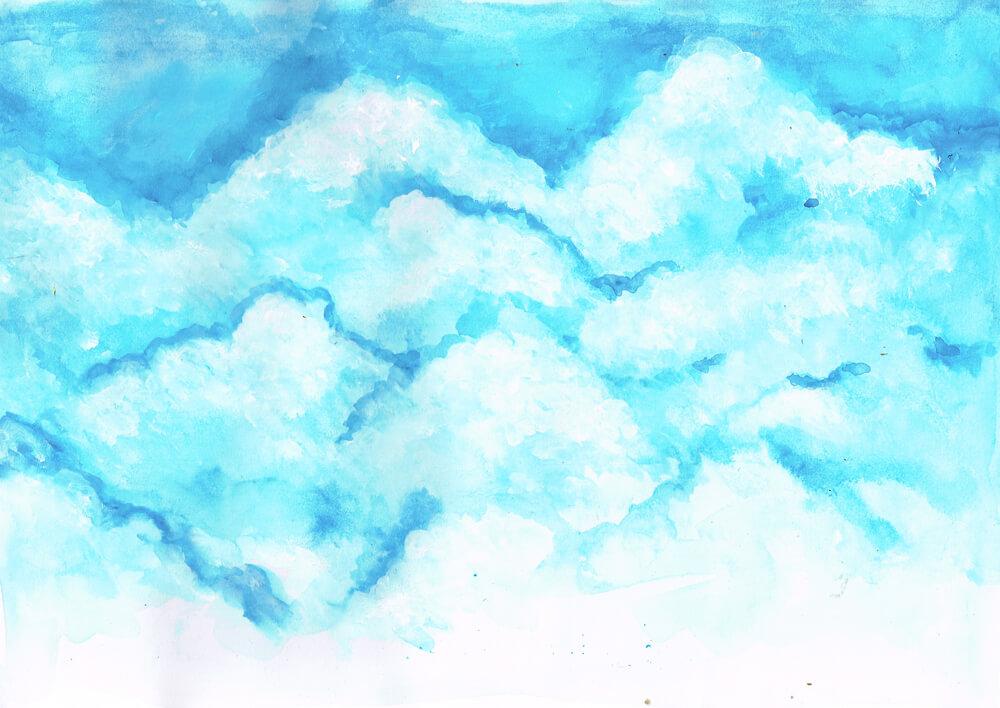 雲 イラストレーション